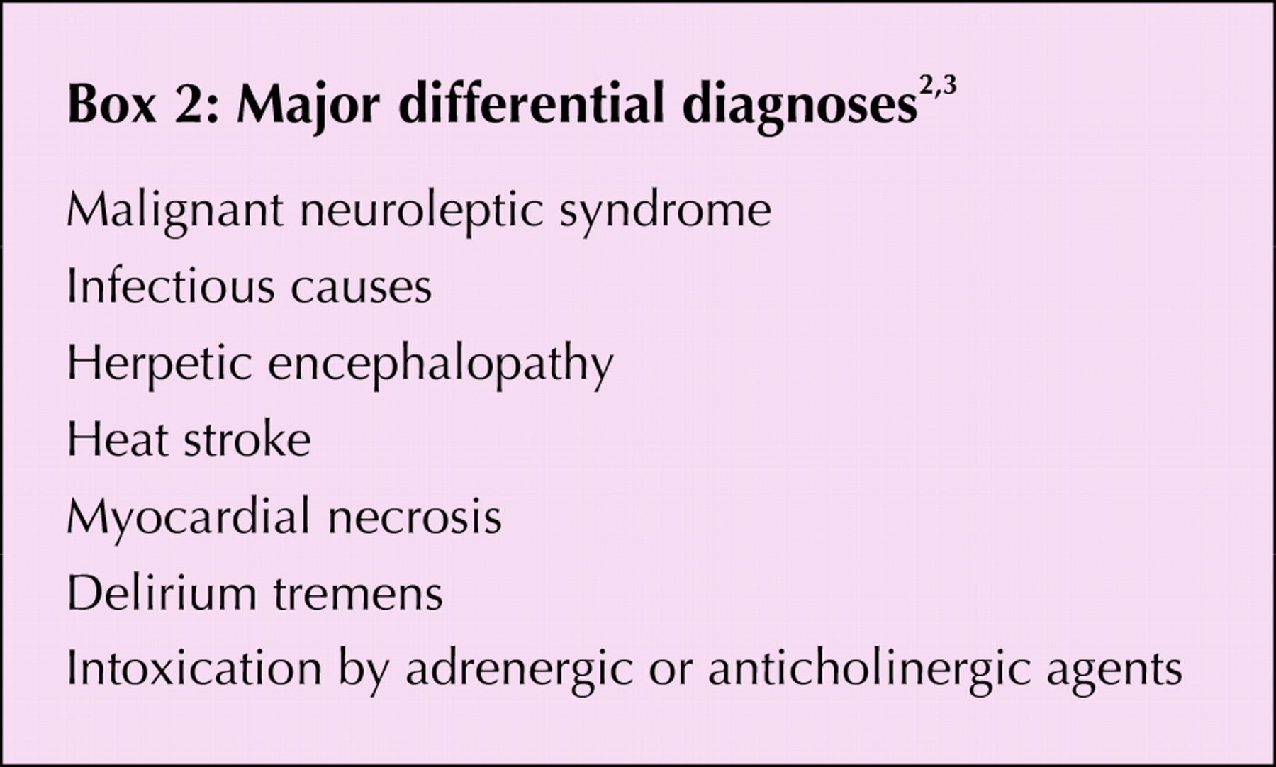Serotonin syndrome: a brief review | CMAJ