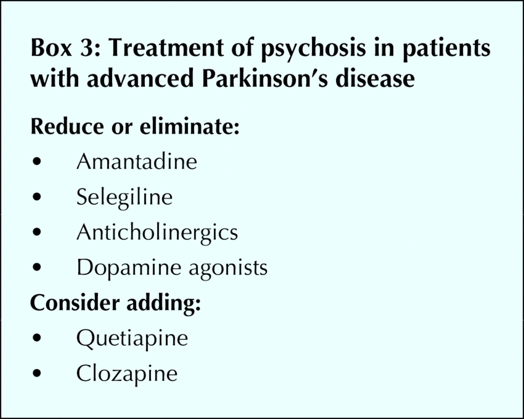 Current concepts in the diagnosis and management of Parkinson's