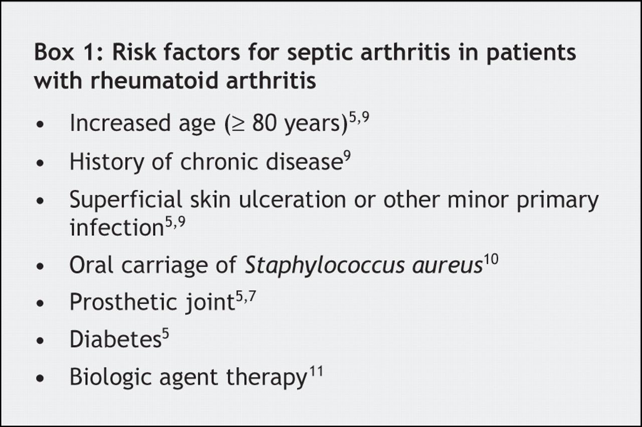septic arthritis in dogs pdf