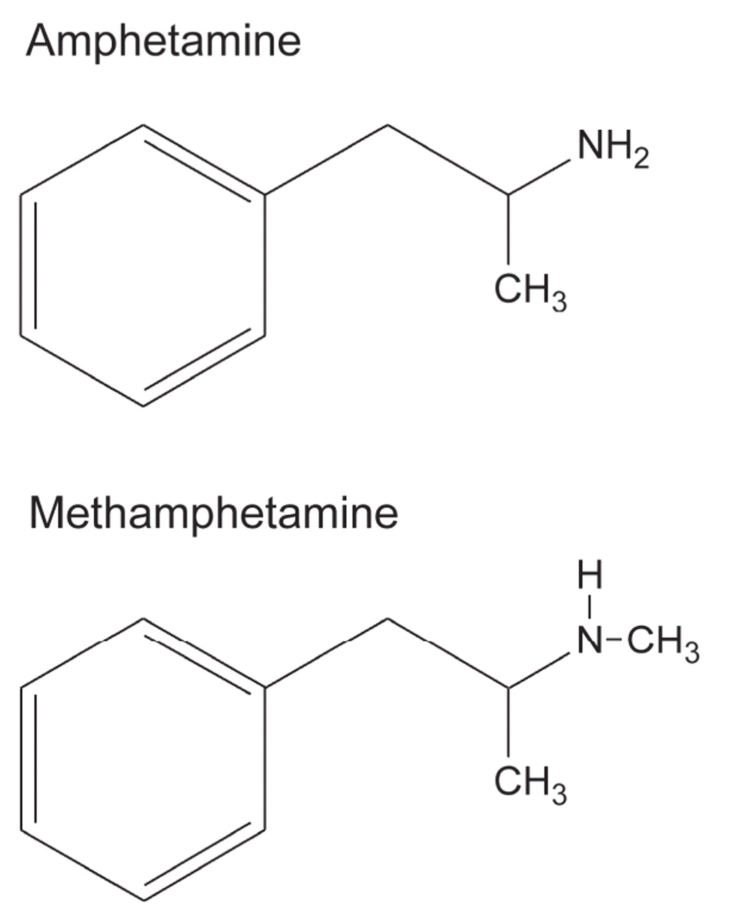 an analysis of the use of amphetamines and methamphetamines Know how long amphetamines and methamphetamines stay detectable in a standard amphetamine drug tests hair analysis tests are conducted using a small sample.