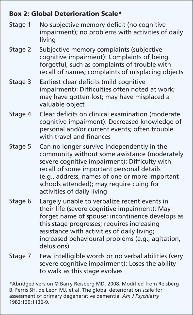 diagnosis and treatment of dementia 6 management of