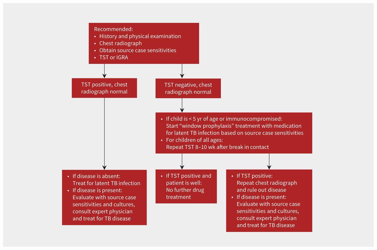Diagnosis And Management Of Pediatric Tuberculosis In Canada Cmaj