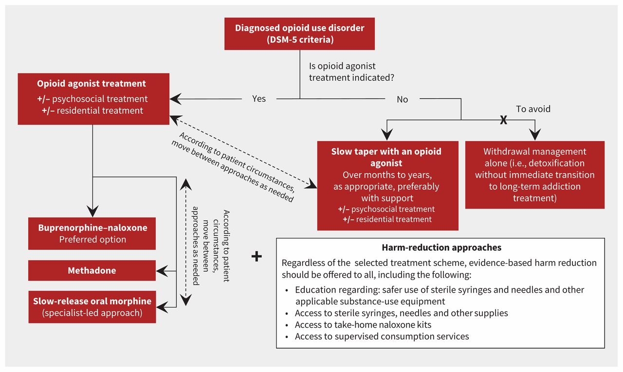 Management of opioid use disorders: a national clinical