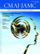 Canadian Medical Association Journal: 184 (13)