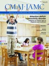 Canadian Medical Association Journal: 184 (7)
