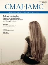 Canadian Medical Association Journal: 185 (10)