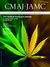 Canadian Medical Association Journal: 186 (12)