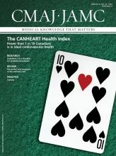 Canadian Medical Association Journal: 186 (3)