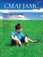 Canadian Medical Association Journal: 186 (7)