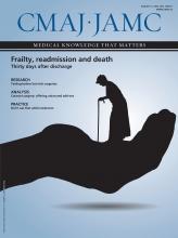 Canadian Medical Association Journal: 187 (11)