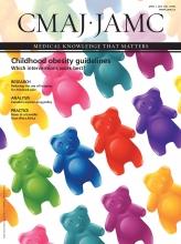 Canadian Medical Association Journal: 187 (6)