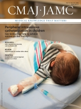Canadian Medical Association Journal: 187 (8)