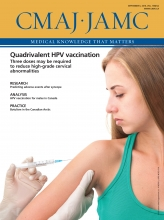 Canadian Medical Association Journal: 188 (12)