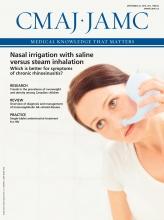 Canadian Medical Association Journal: 188 (13)
