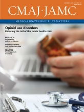 Canadian Medical Association Journal: 188 (17-18)