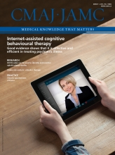 Canadian Medical Association Journal: 188 (4)