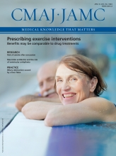 Canadian Medical Association Journal: 188 (7)