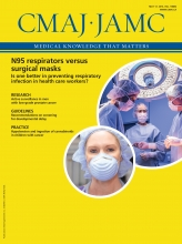 Canadian Medical Association Journal: 188 (8)