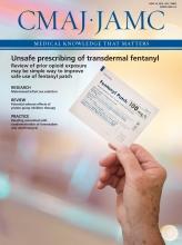 Canadian Medical Association Journal: 188 (9)