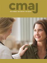 Canadian Medical Association Journal: 190 (49)