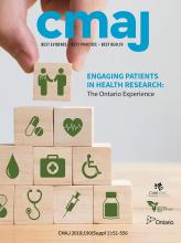 Canadian Medical Association Journal: 190 (Suppl)